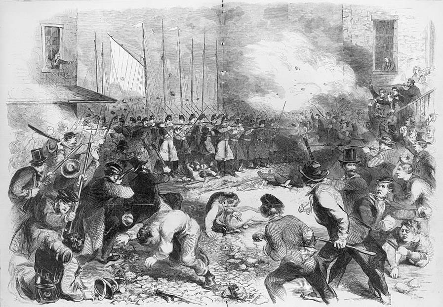 Pratt Street Riots, April 19, 1861 | Welcome to Baltimore, Hon!