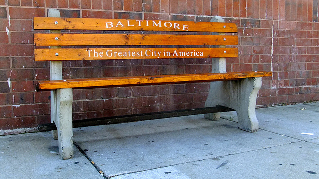 Baltimore bench