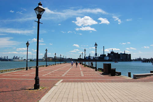 Exploring The Waterfront Promenade Welcome To Baltimore Hon