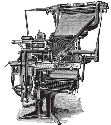 Mergenthaler's Linotype