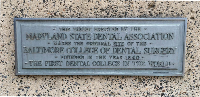 First dental college, Baltimore